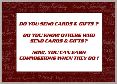 Earn Commissions when People Send Greeting Cards
