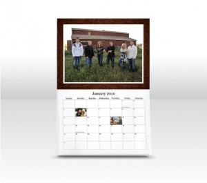 send out cards photo calender