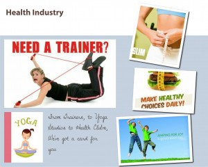 greeting card from send out cards for the health industry